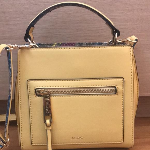 fb3e755ccf4 Aldo Handbags - Aldo yellow handbag